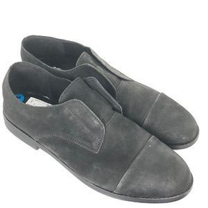 Eileen Fisher Frida Leather Slip-On Oxford Size 10